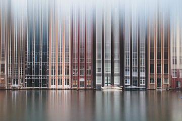 Amsterdam abstract van M. Cornu