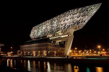 Havenhuis Antwerpen von Gert Bakker