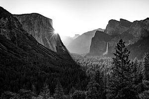 Sonnenaufgang im Yosemite Valley van