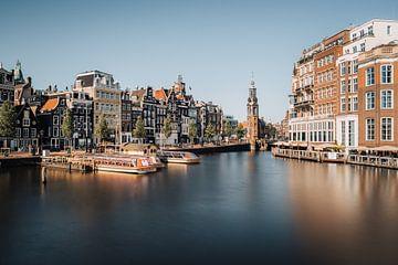 Munttoren,  Amsterdam von Lorena Cirstea