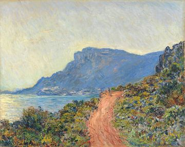 La Corniche bij Monaco, Claude Monet