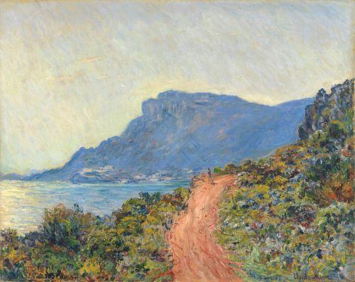 La Corniche bij Monaco, Claude Monet van