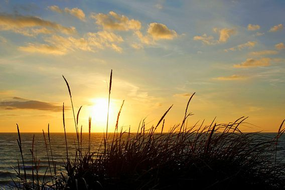 Ein traumhafter Abend van Ostsee Bilder