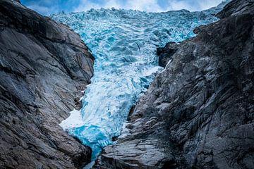 Briksdalbreen gletsjer Noorwegen van Jayzon Photo