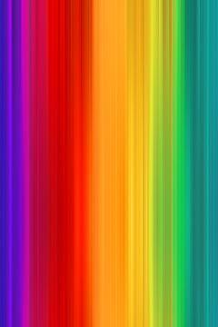 Regenboogkleuren van Steffen Gierok