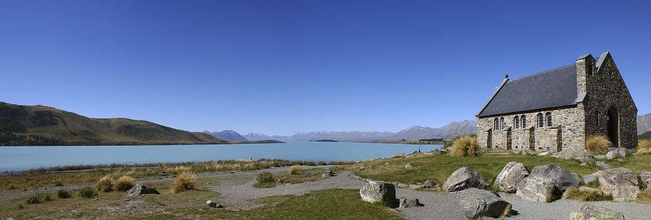 Lake Tekapo, Nieuw Zeeland van Jeroen van Deel
