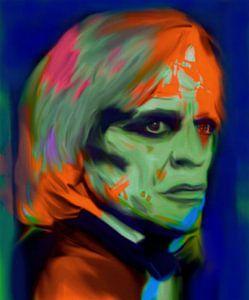 Klaus Kinski Pop Art PUR