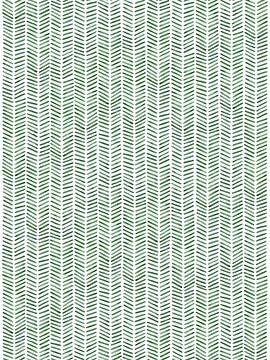 """Fischgrätentapete """"Dschungel"""" von Natalie Bruns"""