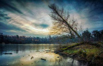 Magic sunrise van Ronald Westerbeek