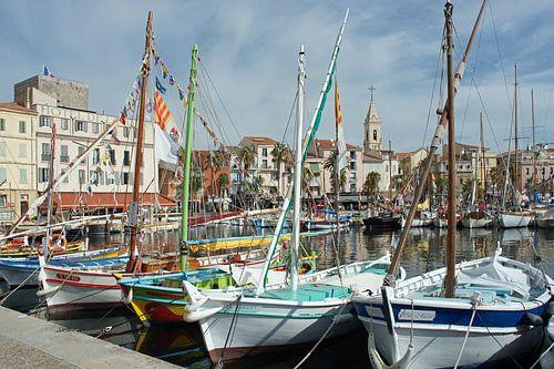 Authentieke pandjes rondom een idyllisch Frans vissershaventje van