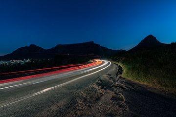 Die Abenddämmerung fällt über den Signal Hill. von Andreas Jansen