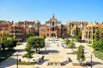 Krankenhaus de Sant Pau, Barcelona von Maria-Maaike Dijkstra