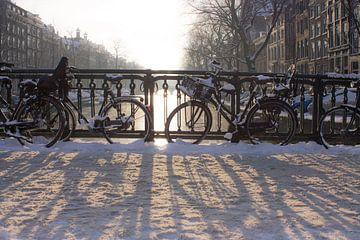 Winterse Keizersgracht van Marjolein Reman