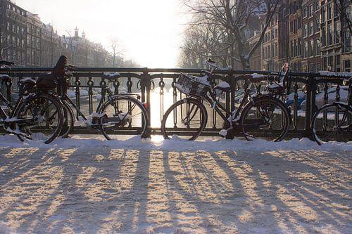 Winterse Keizersgracht von Marjolein Reman