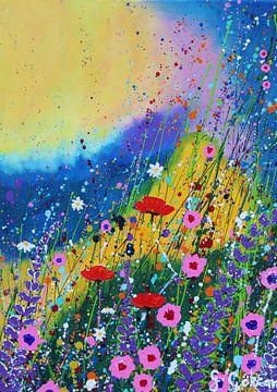 Blumen unter der Sonne von Gulserin Gokcan