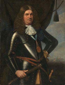 Portrait Adriaen Banckert Leutnant-Admiral von Zeeland, Hendrick Berckman