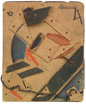 KURT SCHWITTERS, Merz zeichnung, 1919