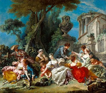 Die Vogelfänger, François Boucher