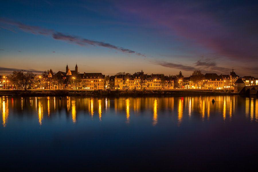 Maastricht in het avondlicht!