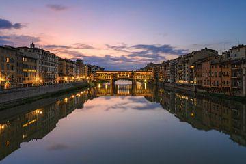 Ponte Vecchio am Morgen von Robin Oelschlegel