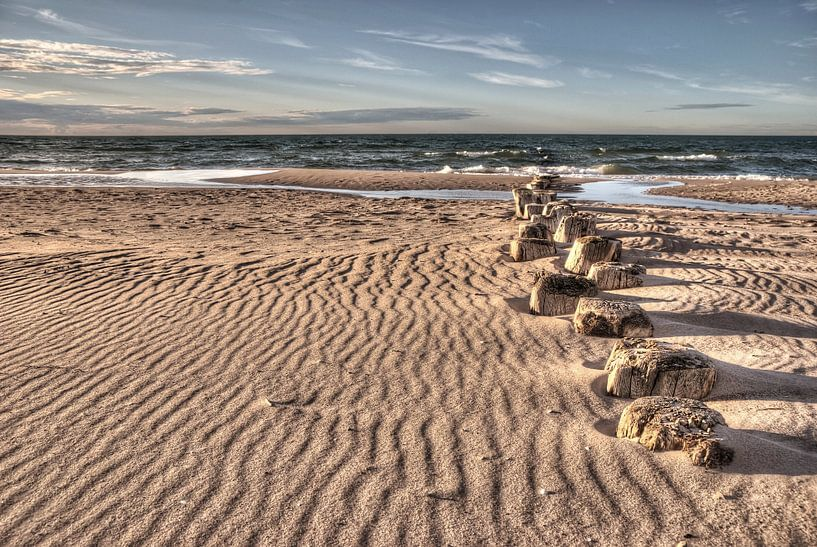 Strand in Prerow van Steffen Gierok