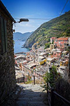 Kleurrijk Vernazza, Cinque Terre sur Kramers Photo