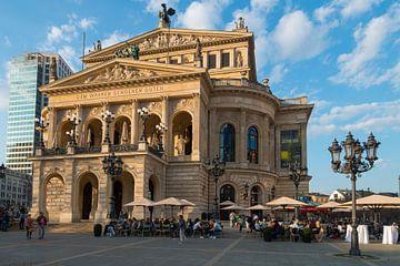 Ehemaliges Opernhaus, Alte Oper, Frankfurt am Main, Hessen, Deutschland von Peter Apers