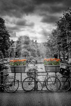 Amsterdam Cityscape sur Melanie Viola
