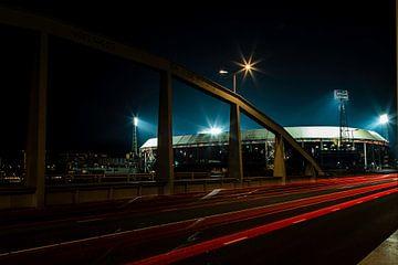 Stadionbrug naar de Kuip van René Groenendijk