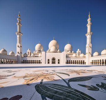 Sheikh Zayed Grand Mosque Abu Dhabi von Achim Thomae