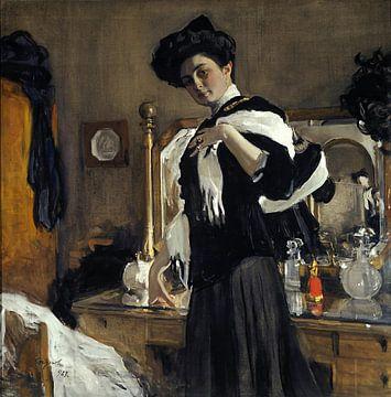 Portrait d'Henriette Girshman, Valentin Serov