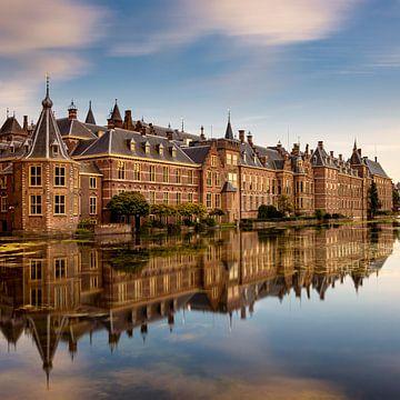 Hofvijver en Binnenhof, Nederland van Adelheid Smitt