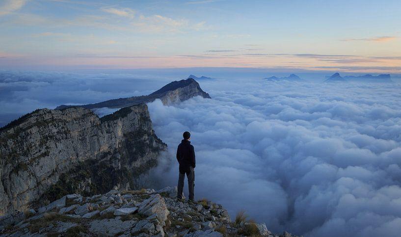 Sea of clouds van Sander van der Werf