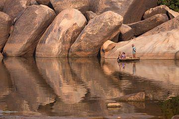 Hampi, Karnataka, Indien, von Peter Schickert