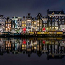 Singel Amsterdam van Michel Jansen