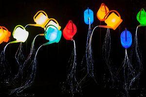 """Lichtkunstwerk """"Guardian Angels"""" tijdens GLOW Eindhoven van Evert Jan Luchies"""