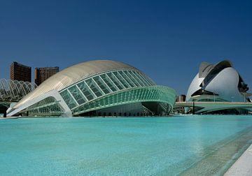 Valencia, Cité des arts et des sciences van Maurits van Hout