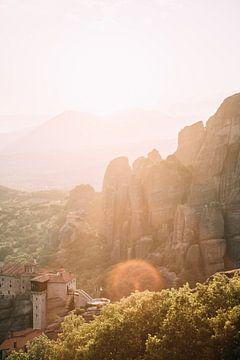 Meteora Klooster van Patrycja Polechonska