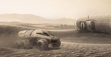 Mission sur Mars sur Markus Bieck