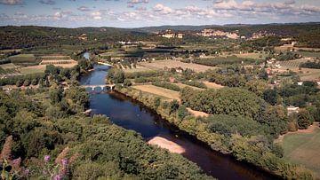 Dordogne in der Dordogne von Jan van der Knaap