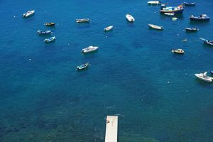 Bootjes op de Atlantische Oceaan
