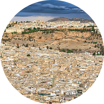 Fes, de koningsstad, Marokko van Rietje Bulthuis