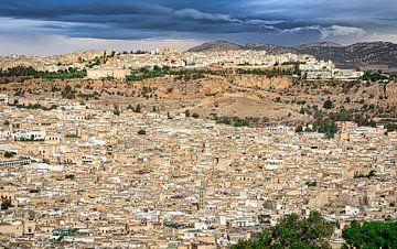 Fes, die königliche Stadt, Marokko von Rietje Bulthuis