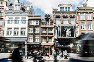 Verkrotting in Leidsestraat, Amsterdam