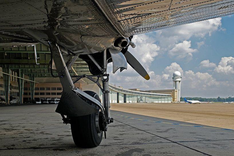 L'ancien aéroport de Berlin Tempelhof sur Frank Herrmann