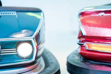 Vintage Bumper Cars van Bert-Jan de Wagenaar