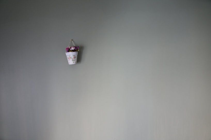 Countin' flowers on the wall ... von Tina Hartung