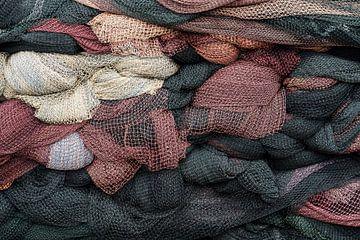 Stapel visnetten van Daan Kloeg
