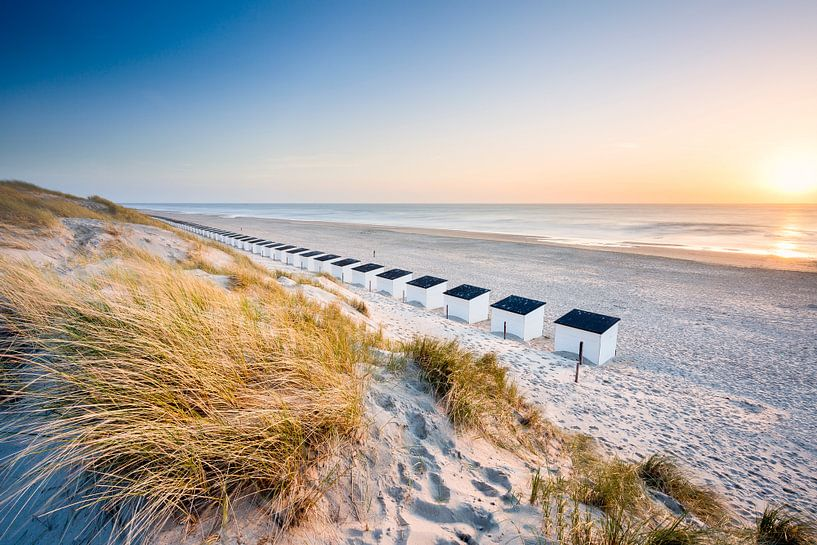 Texel, het strand bij Paal 17 van Ton Drijfhamer