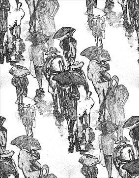 An einem Regentag van Eberhard Schmidt-Dranske
